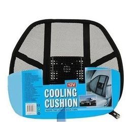 coussin ventilateur de maintien de lombaires au volant siege refroidissant 12v rafraichissant. Black Bedroom Furniture Sets. Home Design Ideas
