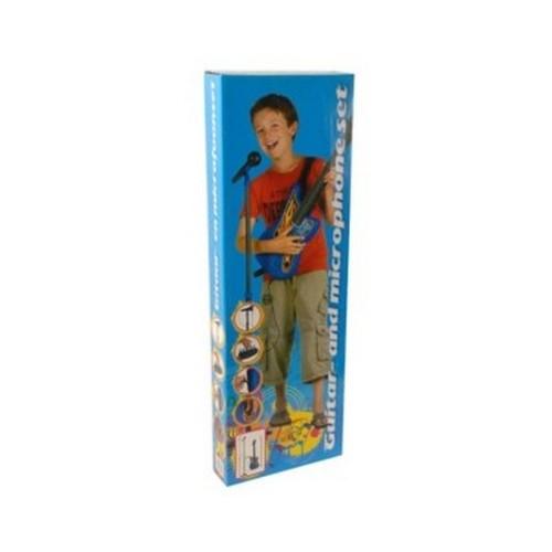 ref 81 guitare avec micro jouet musical pour enfant sur piles. Black Bedroom Furniture Sets. Home Design Ideas