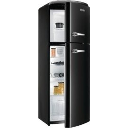 r frig rateur combin gorenje rf60309obk classe a noir pas cher. Black Bedroom Furniture Sets. Home Design Ideas