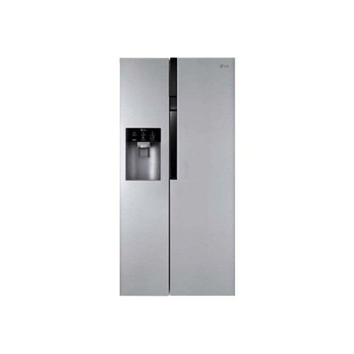 r frig rateur combin lg electronics gw l6004ns classe a inox design. Black Bedroom Furniture Sets. Home Design Ideas