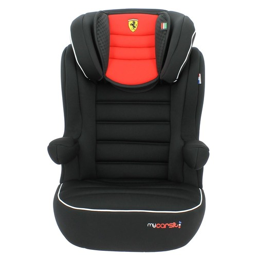 si ge auto et rehausseur avec dossier isofix ferrari. Black Bedroom Furniture Sets. Home Design Ideas