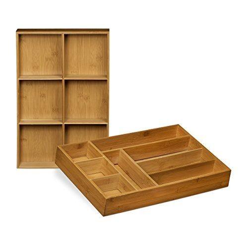 Organiseur de tiroir cuisine free rangement couverts for Rangement couverts tiroir cuisine