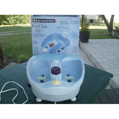 remington foot spa appareil de massage pour pieds pas cher rakuten. Black Bedroom Furniture Sets. Home Design Ideas