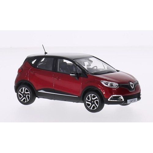 renault captur metallic rot noire 2013 voiture miniature miniature d j mont e norev 1 43. Black Bedroom Furniture Sets. Home Design Ideas