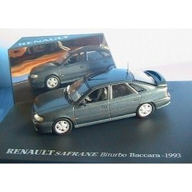 renault safrane biturbo baccara 1993 gris fonce metal 1 43 universal hobbies. Black Bedroom Furniture Sets. Home Design Ideas