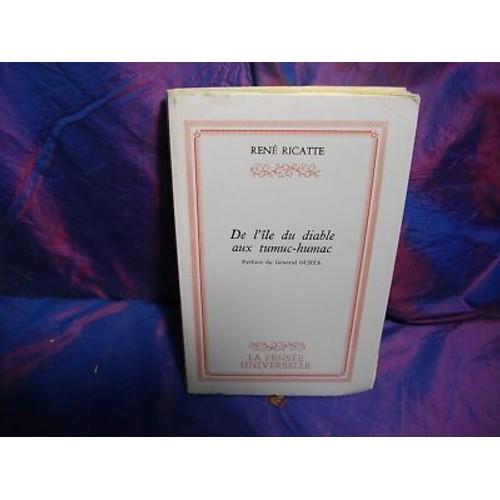 Rene ricatte de l 39 ile du diable aux tumuc humac 1978 - Code promo vente du diable frais de port offert ...
