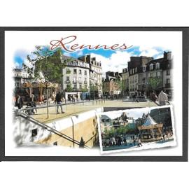 Rennes ille et vilaine la place sainte anne et ses for Constructeur de maison en bois ille et vilaine