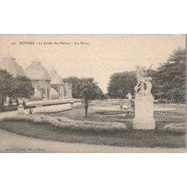 Rennes - Jardin des Plantes - serres 1910