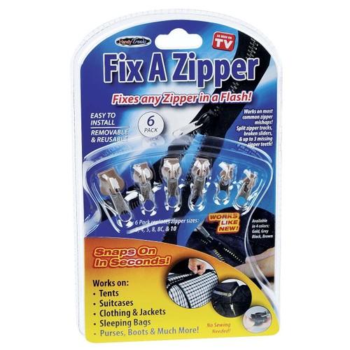 kit de r paration pour fermeture eclair 6 zippers inclus. Black Bedroom Furniture Sets. Home Design Ideas