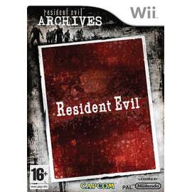Resident Evil - Archives - Achat vente de Jeu Wii - PriceMinister