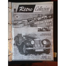 Retro Collection Magazine N� 17 Rouler En Mg.Tf.1500