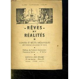 Reves Et Realites. de Alice Alphonse Henry
