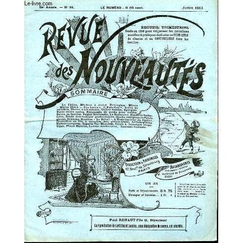 revue des nouveautes n 94 juillet le philos machine crire remington miroir main. Black Bedroom Furniture Sets. Home Design Ideas