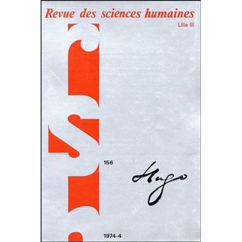 Revue des sciences humaines lille iii num ro 156 hugo de for Revue sciences humaines