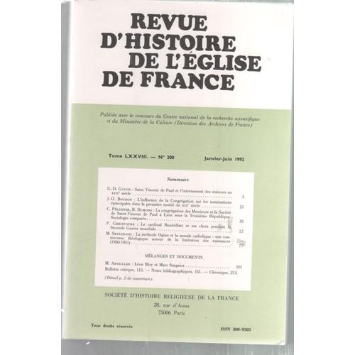 0d66e6b54d7d revue-histoire-de-l-eglise-de-france -t-78-n-200-saint-vincent-de-paul-et-l-internement-des-mineurs-905689692 L.jpg