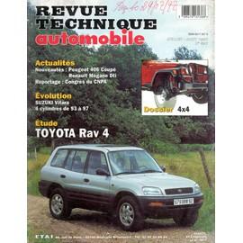 revue technique automobile n 597 toyota rav 4 rav4 essence 2 0. Black Bedroom Furniture Sets. Home Design Ideas