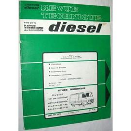 revue technique diesel n 71 peugeot j7 avec moteur di sel moteurs indenor xd x dp. Black Bedroom Furniture Sets. Home Design Ideas