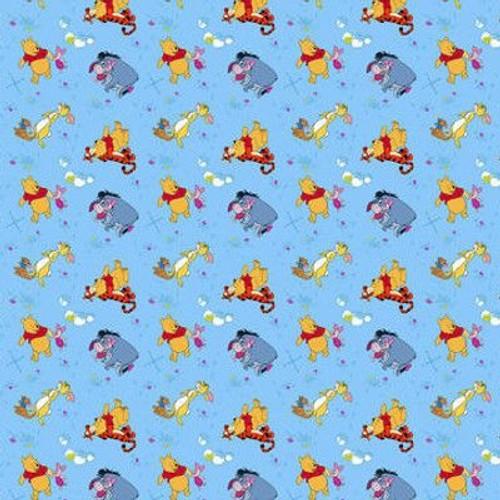 Rideaux Winnie L\'ourson Rise Et Shine Disney-Standard : 180x160 Cm ...