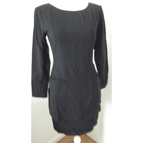 Robe ann taylor laine 40 noir achat et vente for Robes de noce ann taylor