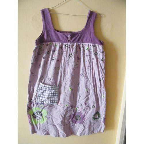 robe blanche porte 44 violet achat et vente priceminister rakuten. Black Bedroom Furniture Sets. Home Design Ideas