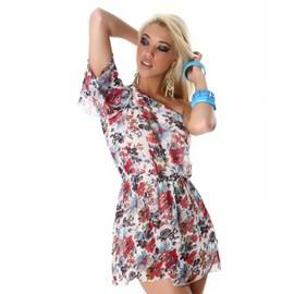 Tunique robe fleurie