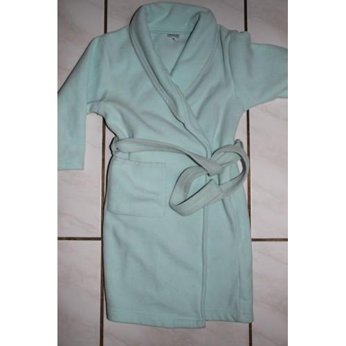 robe de chambre damart en polaire vert p le en 6 ans achat et vente. Black Bedroom Furniture Sets. Home Design Ideas