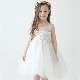5a19e36ad4032 Robe De Princesse Robe De Mariage Soirée Fille Fleur Robe Dentelle