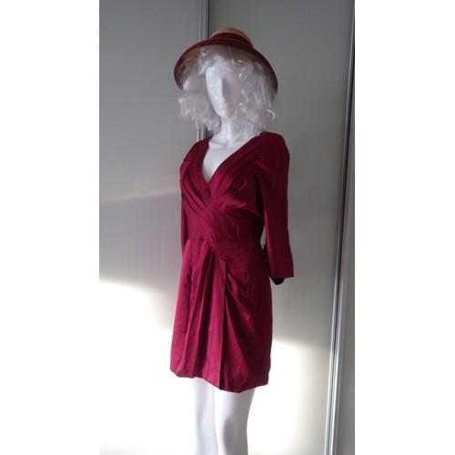 40256d90c78 Robe De Soirée Neuve Bcbg Max Azria 36 Rouge - Achat et vente