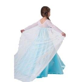 Robe enfants paillettes princesse strass flocons cape - Deguisement princesse des neiges ...