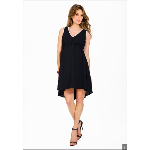 robe envie de fraise marie synth tique 36 noir achat et vente. Black Bedroom Furniture Sets. Home Design Ideas