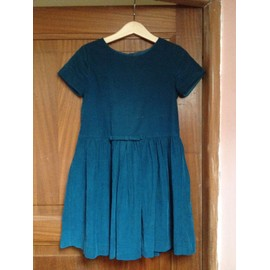 Petite annonce Robe Jacadi Velours 7 Ans Turquoise - 78000 VERSAILLES