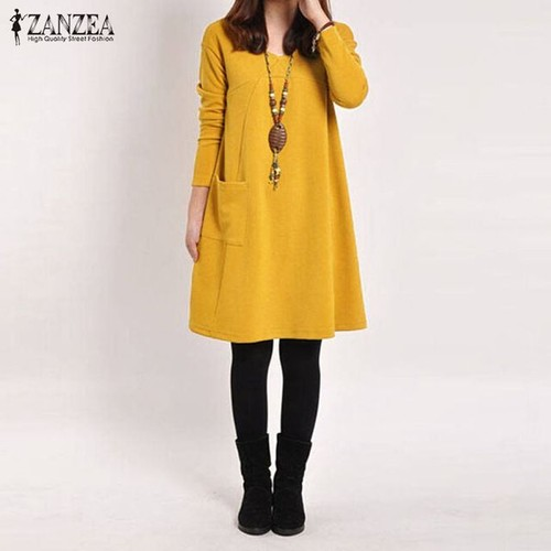 Robe jaune en hiver