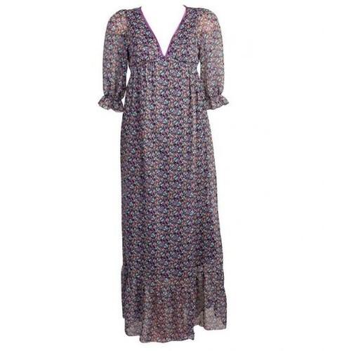 9fe75f11833 Robe Longue Liberty Rose Violet - Jennyfer - T.L - Neuve - Rakuten