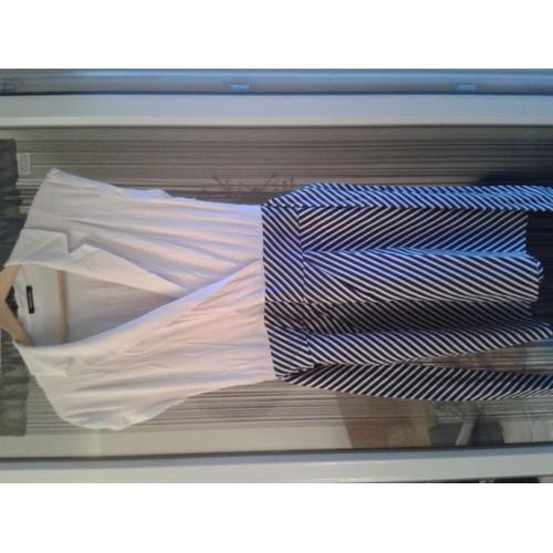 robes l gantes france robe morgan bleu et blanche. Black Bedroom Furniture Sets. Home Design Ideas