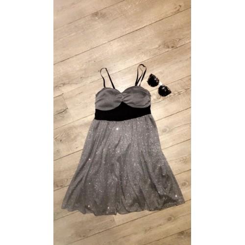 0a02217151c Robe Pailletée Grise - Achat vente de Prêt à porter - Rakuten