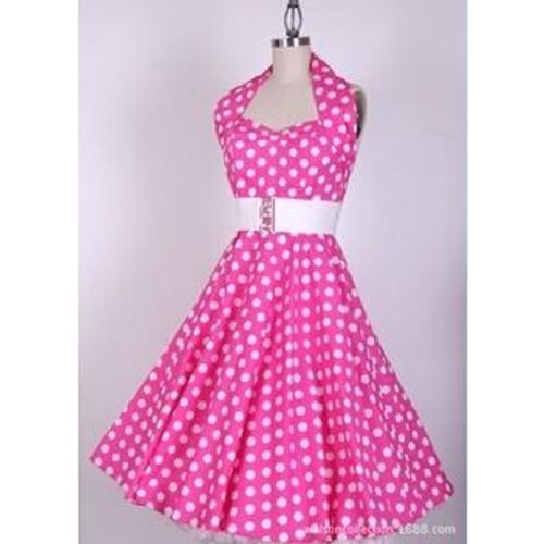 robe soir e dansante style ann es 50 vintage rockabilly swing taille 36 au 46 couleur. Black Bedroom Furniture Sets. Home Design Ideas
