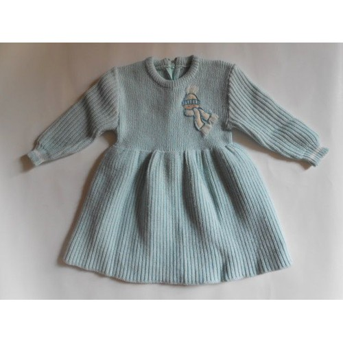 robe vintage bleu ciel 6 mois achat et vente. Black Bedroom Furniture Sets. Home Design Ideas