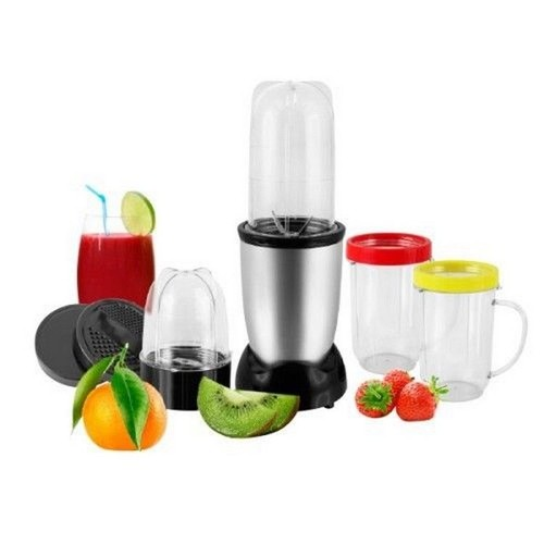 blender mixeur 11 pieces marque deluxe blender 250w capacit 0 4 litre lame inox. Black Bedroom Furniture Sets. Home Design Ideas