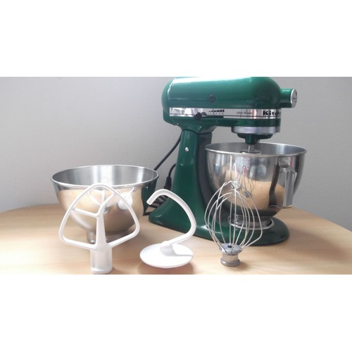 robot kitchenaid ultra power ksm90 300w vert pas cher. Black Bedroom Furniture Sets. Home Design Ideas