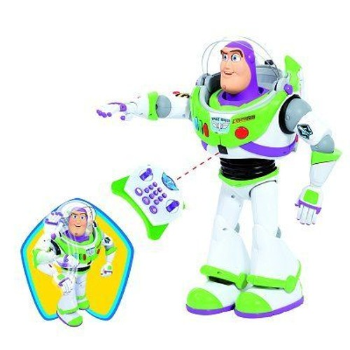 robot t l command toy story 3 buzz l 39 clair achat. Black Bedroom Furniture Sets. Home Design Ideas