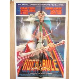 Rock and rule - 1983 - Affiche originale américaine pliée 70 x 105 - Rock n'roll - Animation - France - Rock and rule - 1983 - Affiche originale américaine pliée 70 x 105 - Rock n'roll - Animation - France