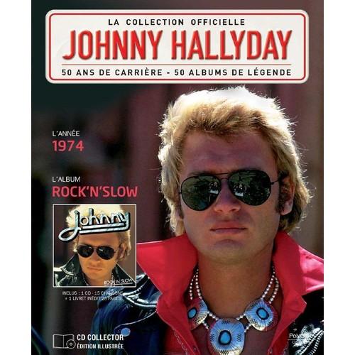 rock 39 n 39 slow johnny hallyday cd album priceminister. Black Bedroom Furniture Sets. Home Design Ideas
