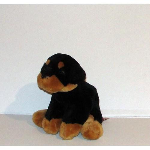 Rottweiler Chiot Chien Peluche Doudou Rott Keel Toy 17cm
