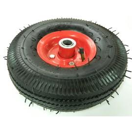 roue de brouette remorque m tal gonflable 25 cm axe 1 7cm. Black Bedroom Furniture Sets. Home Design Ideas