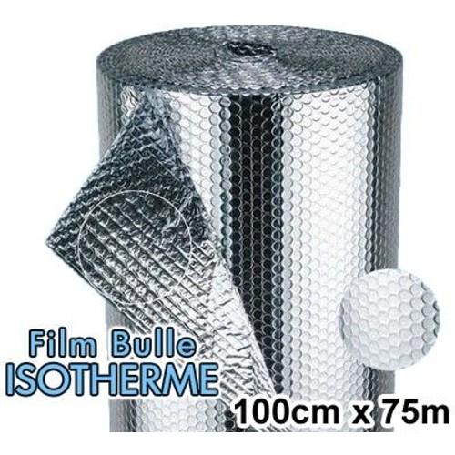 rouleau de film bulle d 39 air isotherme 100cm x 75m priceminister rakuten. Black Bedroom Furniture Sets. Home Design Ideas