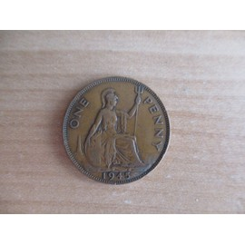 Royaume-Uni One penny George VI 1945 N°9769