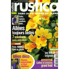 Rustica 1951 dans la vie comme au jardin / allées toujours belles / plantes  suspensdues