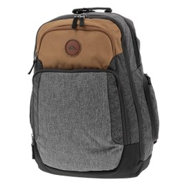 Sac A Dos College Quiksilver Shutter Rubber Heather Gris 13264