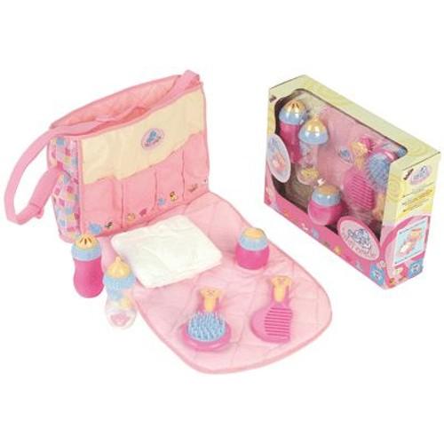 sac a langer avec accessoires achat vente de jouet priceminister rakuten. Black Bedroom Furniture Sets. Home Design Ideas
