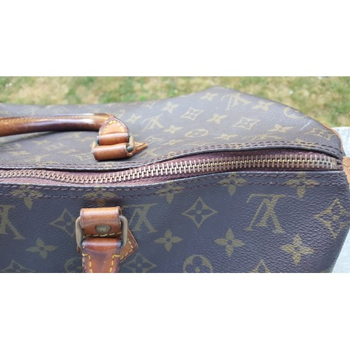 Sac À Main Louis Vuitton Speedy 40 Synthétique Marron - Achat et vente 3fe080a277c